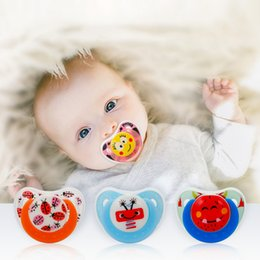 2019 соски-пустышки для соски Cute Cartoon Pacifier Butterfly Silicone Round Flat Head Baby Pacifier Animal Printing Adult Baby Care Accessories