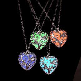 Tree Locket Necklace Art Locket Pendant Full Moon Tree Charm,QK053 Tree Locket Pendant