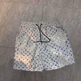 2019 logotipos rápidos 2019 nova marca quente designer de moda praia quick dry shorts atacado verão dos homens calções de moda popular logotipo terno maiô praia dos homens calça logotipos rápidos barato