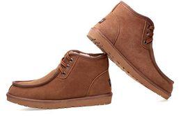 2019 sapatos de couro beckham Hot vender TOP AUS Design Clássico curto Beckham Homem Mulheres bota de neve Marca Menina popular Botas De Couro Genuíno Botas de Neve de Moda sapatos sapatos de couro beckham barato