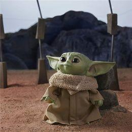 2020 nouveaux jouets de poupée 2020 Bébé Yoda 30cm en peluche Jouets pour enfants Garçons Gilrs Mandalorien Film Maître Yoda bébé en peluche douce Poupées Jouets mignon pour enfants Cadeaux New F1202 nouveaux jouets de poupée pas cher