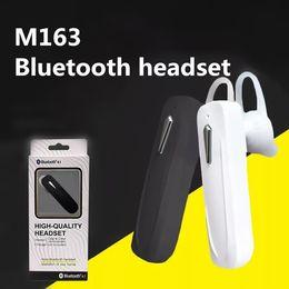 oreillette bluetooth samsung edge Promotion M163 casque stéréo sans fil Bluetooth écouteurs mini sans fil bluetooth mains libres universel pour samsung iphone i7 s7 bord