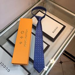 schwarze krawatte orange streifen Rabatt Luxus-Stickerei Krawatte Herren High-End-Designer Seidenkrawatte Outdoor Business Wild Glatte Seidenkrawatte Kostenloser Versand