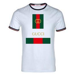 camisa polo blanca hombre 5xl Rebajas Camisa polo de los hombres camiseta túnica 2019 blanco nuevo diseño Streetwear cuello redondo camisetas moda hombre verano manga corta camiseta