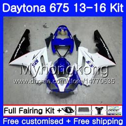 675 carenados azules Rebajas Body For Triumph blanco azul claro Daytona-675 Daytona 675 13 14 15 16 Carrocería 328HM.6 Daytona675 Daytona 675 2013 2014 20 15 2016 Fairings