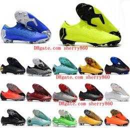Canada 2019 mens super Mercurial VI 360 XII Élite FG AC Neymar chaussures de football Chaussures de football Ronaldo chute de neige CR7 scarpe calcul Offre
