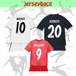 2bbba27a6 new 18 19 real md soccer jersey kids kit MODRIC home away third ASENSIO  VINICIUS JR ISCO KROOS BALE MARCELO MARIANO RAMOS football uniform. US ...