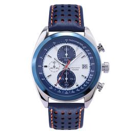 a60e0ac6c Mens moda reloj de cuarzo pulsera auto fecha cronógrafo hombres de negocios  casual elegante colección de lujo elegante reloj clásico