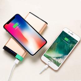 10000mAh Portable Universel QI Chargeur Sans Fil Double USB Power Bank Pour iPhone Samsung Powerbank Chargeur USB Sans Fil Batterie Externe ? partir de fabricateur