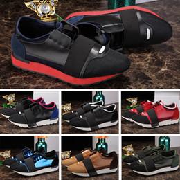 2019 homens sapatos casuais apontou 2019 Nova Corrida Corredor Calçados Casuais Designer de Mens Mulheres Apontou Toe 24 Cores Sapatilhas Esportes Tênis 35-46 BOX Poeira desconto homens sapatos casuais apontou
