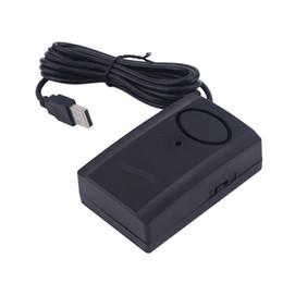 TS-870 Universal USB Filaire Capteur D'alarme Porte Fenêtre Maison Maison Détecteur de Capteur De Sécurité Facile À Utiliser Noir ? partir de fabricateur