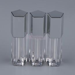 2019 spray atacante perfume atomizador coração 3 Unidades / pacote Mini Limpar 5 ml Vazio Lip Gloss Tubo Lip Oil Bottle Cosmetic Batom Recipientes Garrafas Recarregáveis Maquiagem Ferramenta