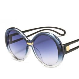 db50057270 wholesale One Piece Lens Sunglasses Women Oversized Oval Transparent Sun Glasses  2019 Brand Designer Men Sun Glasses Shades UV400 FML