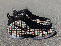 zapatos de figura de moda Rebajas Historieta la espuma Uno zapatos de baloncesto de los hombres Pro Espumas la zapatilla de deporte figuras de dibujos animados Diseño Zapatos de la calle de moda al aire libre de baloncesto de tendencias