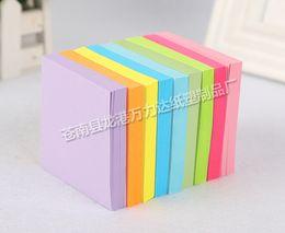 calendario del libro de recuerdos Rebajas Notas adhesivas al por mayor n veces palo Corea nota este pequeño cuaderno notas preciosas papel de palo pequeño fresco
