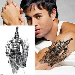 disegni manica braccio tatuaggio Sconti Tatuaggio Temporaneo Adesivi Samurai Tatuaggi Uomini Manica Braccio Tattoo Disegni Tatuaggi Mitologia Greca Mitologia Tatoo Ragazzi Neri Nuovo T190711