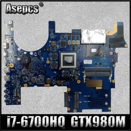 asus motherboard laptop Coupons - Asepcs ROG G752VY Laptop motherboard for ASUS G752VY G752V G752 Test original mainboard I7-6700HQ GTX980M-V4G