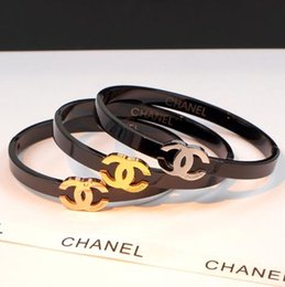 Argentina Nueva calidad superior de lujo cartas de acero titanium oro rosa pulseras oro amor braceletbangle para mujer joyería diseñador pulsera para mujeres Suministro