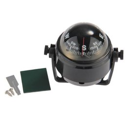 Bootsschlag online-JHO-Pivoting Compass Armaturenbrett Dash Mount Marine Boat Truck Auto schwarz