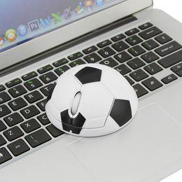 mouse di calcio Sconti Mouse da calcio per computer portatile da mini PC World Cup 2.4Ghz per computer portatile da uomo Mouse da calcio ottico USB 1200DPI per laptop Gamer