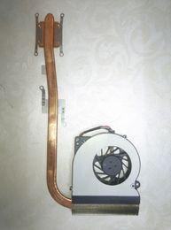 Ventilador de latão on-line-Original para asus laptop dissipador de calor ventilador cooler cpu cooler K52 K52D X52D A52D dissipador de calor da CPU Fan + radiador de latão