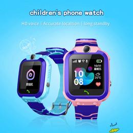 Детские Смарт-Часы IP67 Водонепроницаемый Смарт-Часы С Сенсорным Экраном SOS Телефонный Звонок Устройство Расположение Трекер Anti-Lost Дети от