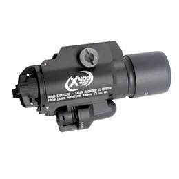 Tactique SF X400 Arme Lumière LED Lampe de poche pour pistolet Airgun Laser Combo Lumière Chasse Scout Torche Pour Picatinny Rail ? partir de fabricateur