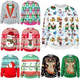 2019 pull en coton à coton pour femme Chandail De Noël Manteau Femme Hiver Pull Felpe Donna Tops Vêtements Moletom Feminino Ariana Grande Sweat Femme