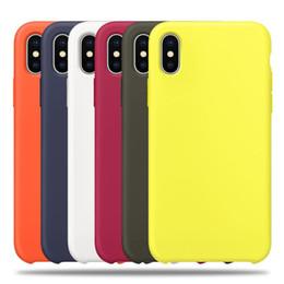 2019 x-kisten Original haben logo silikon case für iphone 6 7 8 plus x xs xr xsmax telefon silikon abdeckung für iphone x 6 s 6 plus für apple kleinkasten günstig x-kisten