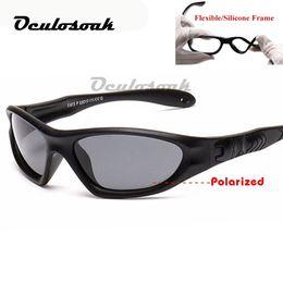Kinder polaroid gläser online-Kinder Baby Sicherheit Polarisierte Sonnenbrille Tac Kind Sonnenbrille Mädchen Jungen Outdoor Brille Polaroid Sonnenbrille Infant 2019
