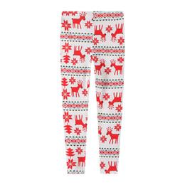 Style de mode Bébé Filles Neige Renne Imprimé Taille Garçons Filles Leggings Maigre Imprimé Crayon Pantalon 2-7 Ans ? partir de fabricateur