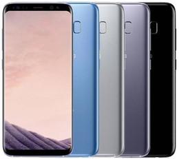 галактика samsung отремонтирована Скидка Восстановленный оригинальный samsung galaxy S8 G950u разблокирован LTE GSM Android Octa Core 5.8