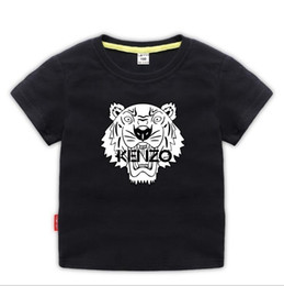 t-shirt dressing stil junge Rabatt Kurzärmliges T-Shirt für Kinder im Sommerkleid Neues Kinder-T-Shirt für Kinder Kinderunterhemd Babies'Half-T-Shirt Top 2-