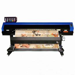2019 kommerzielle etikettendrucker China lieferant automatische 1,8 mt dx5 dx7 flex banner inkjet eco solvent drucker