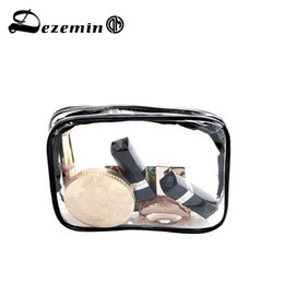 DEZEMIN See Through Bags with Zipper Bolsa de cosméticos Bolsa transparente 18 cm x 4 cm x 14 # 87510 desde fabricantes