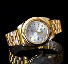 Звон часов онлайн-Алмазные часы master watch 40 мм двойной календарь кольцо автоматические знакомства роскошные моды для мужчин и женщин полосы Спортивные кварцевые часы мужские часы