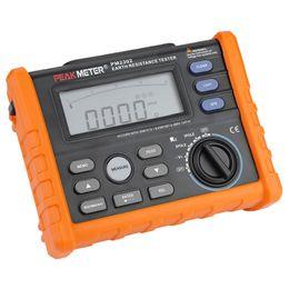 Dijital Topraklama Direnci Gerilim Test Cihazı Metre PM2302 Toprak Test Cihazı cheap earth tester digital nereden toprak test cihazı dijital tedarikçiler