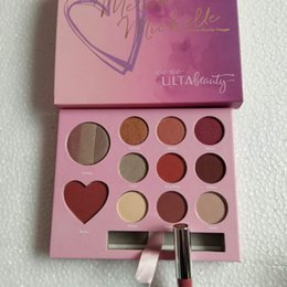 2019 palette gloss kylie Make-up Lidschatten-Palette Lippenstift Maquillage Foundation Kylie Kosmetik Valentinstag Geschenkset mit Herz Schatten und Lipgloss in 11 Farben günstig palette gloss kylie