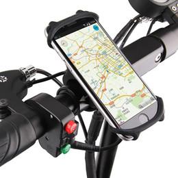 2019 halter silikon fahrrad Fahrradhalter Silikon Unterstützung Universal Mobile Handy Lenkerhalterung Band Fahrrad GPS Clip Für iPhone Samsung Xiaomi PA0115 # 25223 günstig halter silikon fahrrad