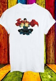 Argentina Doctor Stephen Vincent Strange Dr. Superhero Película Hombres Mujeres Unisex Camiseta 831 Suministro
