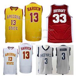 release date 57168 1a118 Arizona State Sun Devils NCAA 33 Bryant 13 Harden College-Basketballtrikots  2019 Meistverkauftes Jersey trikot teufel im angebot