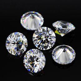 2019 pequenas pedras de cor 1.0 MM a 2.9 MM moissanite pedra solta D / F cor rodada corte brilhante laboratório crescido pequeno teste de diamante solto positivo nunca desaparecer pequenas pedras de cor barato