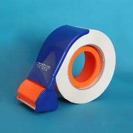 Dispenser per nastro Dispositivo di sigillatura manuale Taglierina Presse per balle Scatola sigillante Larghezza 45 mm Imballatrice Tagliatrice Tagli per imballaggio da