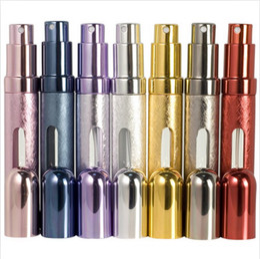 Canada 10000pcs 12ML atomiseurs vides rechargeables bouteilles de parfum de voyage pulvérisation maquillage maquillage après-rasage bouteille en gros prix cheap aftershave spray bottle Offre