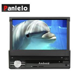 2019 câmera de carro coreano Panlelo T1 1 Din Android Car Stereo 1GB / 2GB RAM 16GB ROM Unidade principal 7 polegadas Touch Screen Slot para cartão SD Porta USB Câmera DVR Entrada de carro dvd do carro desconto câmera de carro coreano