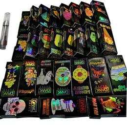Canada La cartouche holographique de vape empaquetant 510 cartouches en céramique l'hologramme vide le stylo de vape vaporisateur 1ML 0.8ML E chariots de vape d'huile de cigarettes Offre