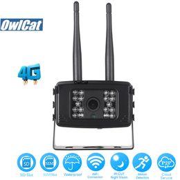 emplacement pour carte sim 3g Promotion Carte SIM OwlCat SONY323 HD 1080P 3G / 4G WIFI Caméra IP de sécurité extérieure Mini-caméra CCTV 2.0MP à distance Voir AP Fente pour carte SD P2P