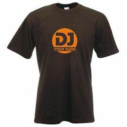 DJ club musique mobile rave radio T-shirt personnalisé ? partir de fabricateur