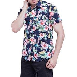2020 camisas pretas dos bordos Dihope 2020 Primavera Outono Características Camisas Men Casual Black White Lip Casual Floral Impresso New Mangas longas Magro Masculino Camisetas desconto camisas pretas dos bordos