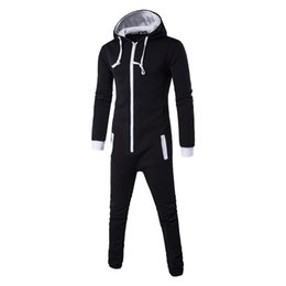 a4db7962330 Autumn Harajuku Gothic Rompers mens Hip Hop Cosplay Jumpsuit Harem Cargo  Overalls Casual Long Bibs Pants Hoodies One-piece suit